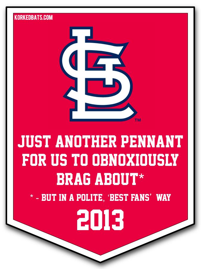 MLB Pennants 2013 - 4