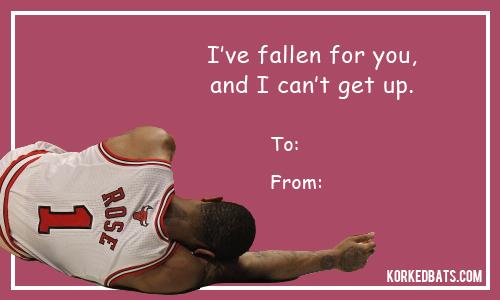 Sports Valentines Day Cards Korked Bats – Basketball Valentine Cards