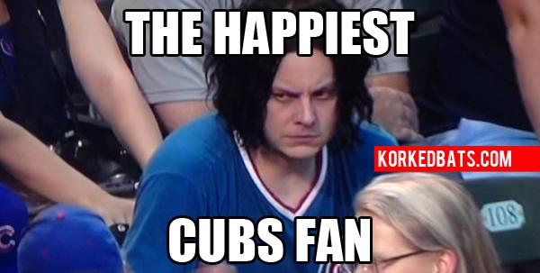 Jack White Meme 1 our 30 best jack white at cubs game memes korked bats