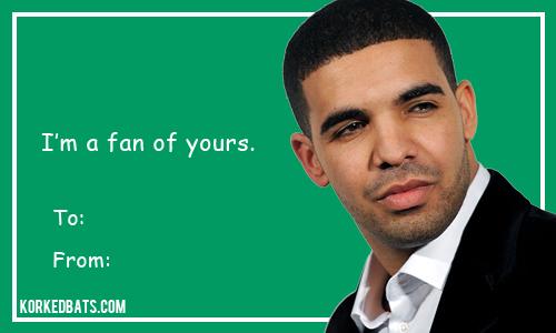 Sports Valentines Cards   Drake