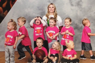 Toddler Basketball Team