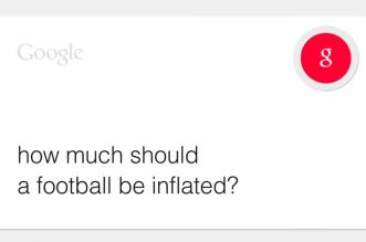 Tom Brady Google Parody