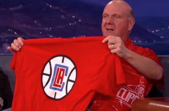 Steve Ballmer Clippers logo
